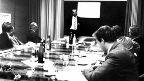 Joint session of the Supervisory Board and Executive Board, 1971