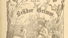 "Illustration in an 1887 edition of ""Kinder und Hausmärchen"" (Children's and Household Tales) by the Brothers Grimm"