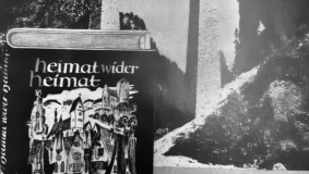 "One of the first and hottest-selling belletristic titles - ""Heimat wider Heimat"" (Homeland vs. Homeland) by Gustav Schröer"