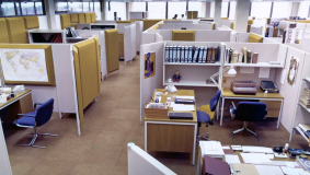 Open-plan office, 1976