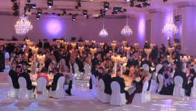 A festive atmosphere at the 2012 Rosenball in Berlin