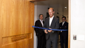 In June 2012, Thomas Rabe inaugurates the offices of the Corporate Center in Sao Paolo