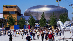 The Expo is the event of the year 2000 in Germany
