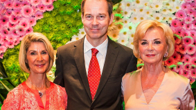 Brigitte, Christoph and Liz Mohn (from l to r) represent the family in the Bertelsmann Verwaltungsgesellschaft (BVG)
