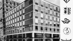 Headquarters of Ufa's music publishers in Munich, 1962. The author roster includes such world-famous names as Robert Gilbert and Michael Jary