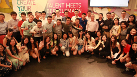 "Der Workshop ""Talent Meets Bertelsmann China"" findet 2015 bereits zum sechsten Mal in Peking statt."