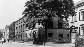 Firmensitz des C. Bertelsmann Verlags in Gütersloh, um 1930