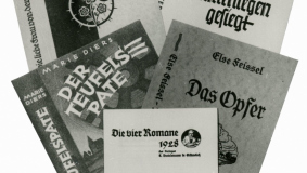 The expansion of the publishing program began in 1928 with these four novels, priced between 3.50 and 7.50 Reichsmark